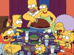 simpsons thanksgiving