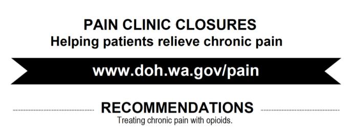 wash pain clinic advice